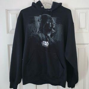 EUC Star Wars Rogue One Hoodie Size M.